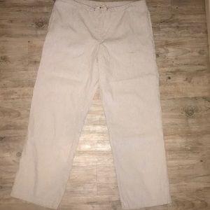 Polo Ralph Lauren Linen Blend Pants 90's